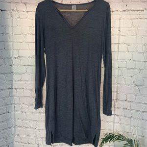 Dark grey Calvin Klein body con sleepwear